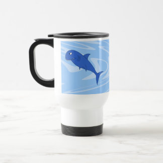 Cartoon Shark Mug