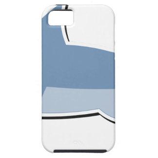 Cartoon Shark Tough iPhone 5 Case