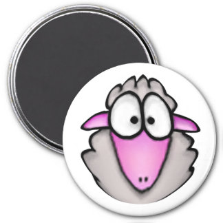 Cartoon Sheep Magnet