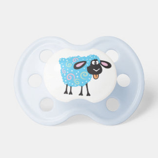cartoon sheep pacifiers