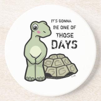 Cartoon Shell-less Tortoise Coaster