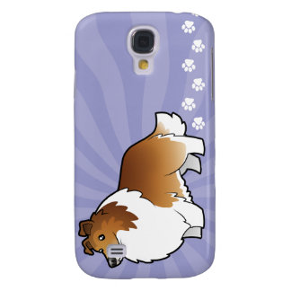 Cartoon Shetland Sheepdog / Collie Samsung Galaxy S4 Case