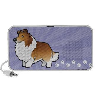 Cartoon Shetland Sheepdog / Collie Mini Speaker
