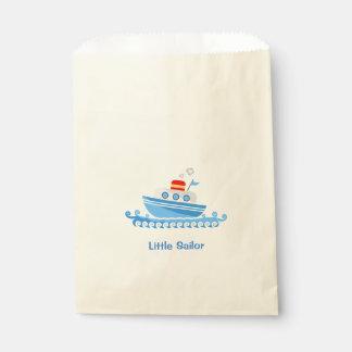 Cartoon Ship Favour Bag