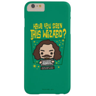 Cartoon Sirius Black Wanted Poster Graphic Barely There iPhone 6 Plus Case