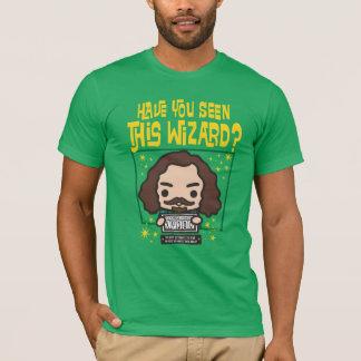 Cartoon Sirius Black Wanted Poster Graphic T-Shirt