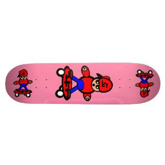 Cartoon Skateboard Korean Kid Skateboard Pink
