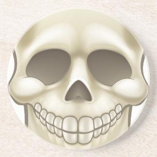 Cartoon Skull Coaster