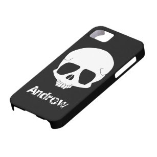 iphone 5 sticker template - cartoon skull gifts on zazzle au