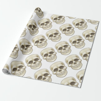 Cartoon Skull Wrapping Paper