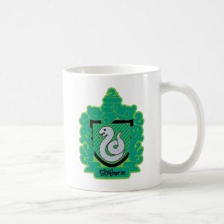 Cartoon Slytherin Crest Coffee Mug