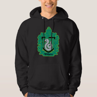 Cartoon Slytherin Crest Hoodie