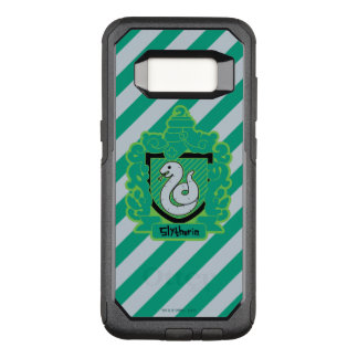 Cartoon Slytherin Crest OtterBox Commuter Samsung Galaxy S8 Case