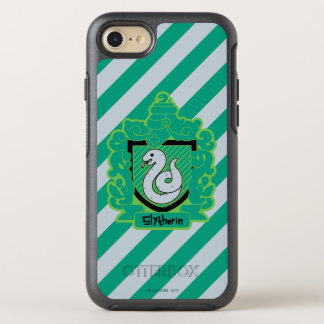 Cartoon Slytherin Crest OtterBox Symmetry iPhone 8/7 Case