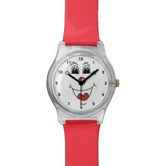 Cartoon Smiling Face Watch