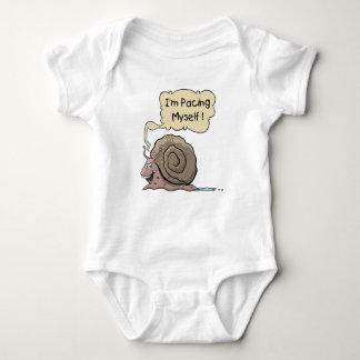 Cartoon Snail Baby Bodysuit