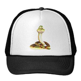 Cartoon Snake Trucker Hat