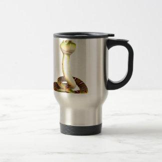 Cartoon Snake Stainless Steel Travel Mug