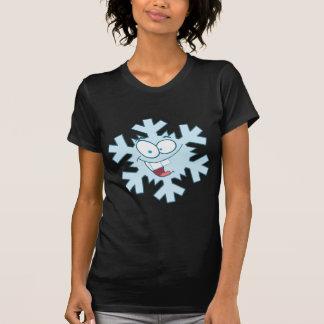 Cartoon Snowflake T-Shirt