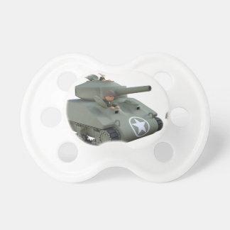 Cartoon Soldiers in a Tank Dummy