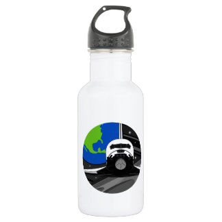 Cartoon Space Shuttle 532 Ml Water Bottle