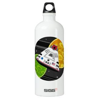 Cartoon Space Shuttle Capsule SIGG Traveller 1.0L Water Bottle