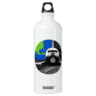 Cartoon Space Shuttle SIGG Traveller 1.0L Water Bottle