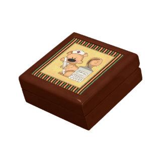 Cartoon Squirrel Nurse Jewelry box
