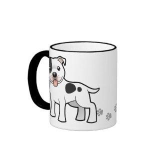 Cartoon Staffordshire Bull Terrier Mug