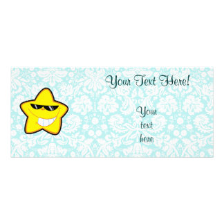 Cartoon Star Cute Custom Rack Card