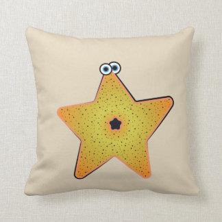 Cartoon Starfish- Critter Cushion
