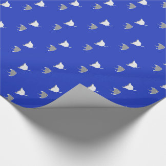 Cartoon Stingray Pattern Wrapping Paper
