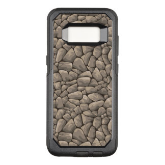 Cartoon Stone Texture OtterBox Commuter Samsung Galaxy S8 Case
