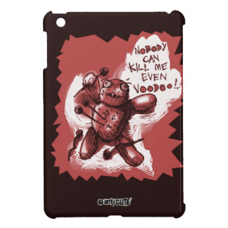 cartoon style voodoo baby iPad mini cases