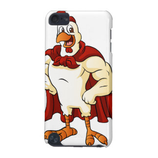 Cartoon super rooster posing iPod touch (5th generation) cases
