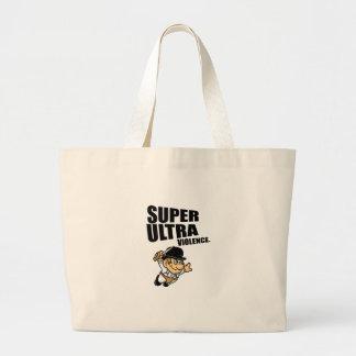 cartoon super Ultra violence Large Tote Bag