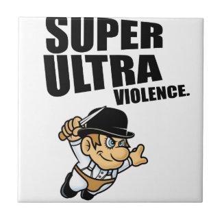cartoon super Ultra violence Tile