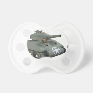 Cartoon Tank and Soldiers Going Forward Dummy