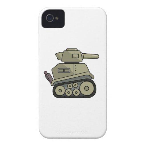 Cartoon Tank iPhone 4 Cases