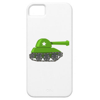 Cartoon Tank iPhone 5 Covers
