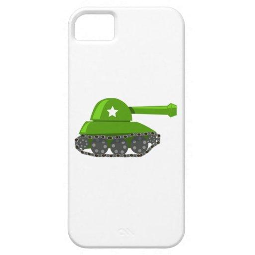 Cartoon Tank iPhone 5 Covers