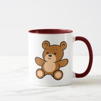 Cartoon Teddy Bear Mug