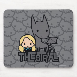 Cartoon Thestral and Luna Character Art Mouse Pad