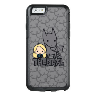 Cartoon Thestral and Luna Character Art OtterBox iPhone 6/6s Case