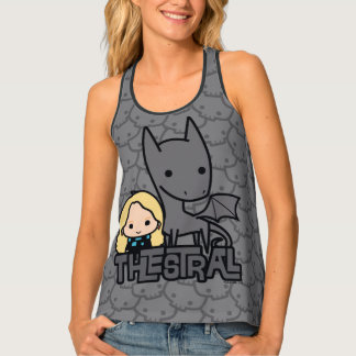 Cartoon Thestral and Luna Character Art Singlet