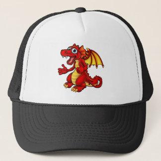 Cartoon Thumbs Up Dragon Trucker Hat