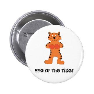 Cartoon Tiger Boxer Pins