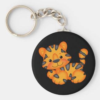 Cartoon Tiger key chain