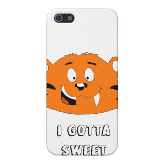 Cartoon Tiger With Sweet Tooth iPhone 5 Cover