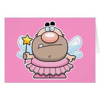 Cartoon Tooth Fairy Card